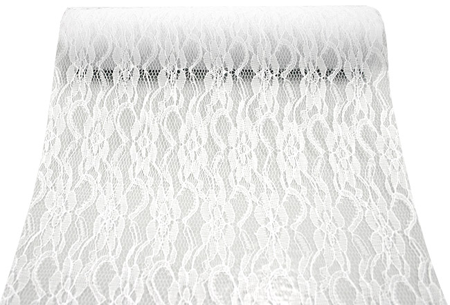 Chemin de Table Dentelle Blanc