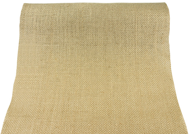 Chemin de Table Jute Naturelle Beige Beige - Taupe