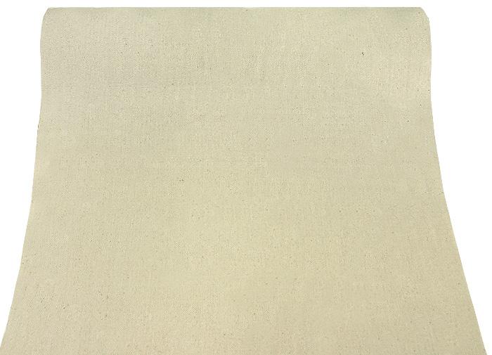 le chemin de table en lin beige uni d coration de table bapteme. Black Bedroom Furniture Sets. Home Design Ideas