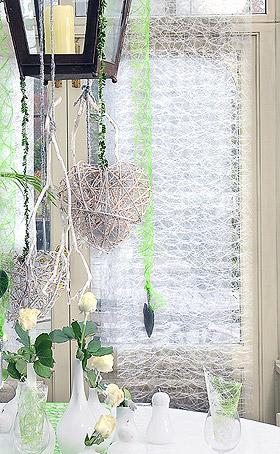 Chemin de Table Sizoweb Abaca Luxe Blanc