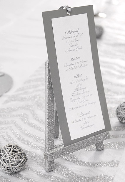 grand chevalet paillet porte menu nom de table marque table mariage. Black Bedroom Furniture Sets. Home Design Ideas