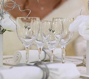 Décoration Mariage Blanc et Argent