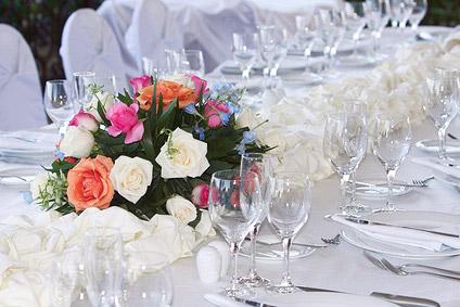 La coupelle pour composition florale avec mousse d coration de table mariag - Composition de mariage ...