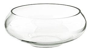 Coupelle en Verre Ronde Centre de Table Transparent