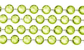 Guirlande Cristal Diamant vert anis