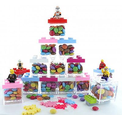 Cube Légo Dragées