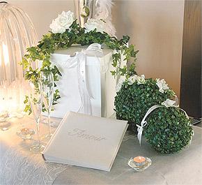 Boule Buis Artificiel 30cm mariage pas cher Vert Anis