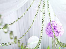 Décoration Mariage Guirlande Cristal Diamant