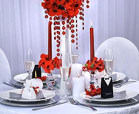 Décoration de table Guirlande Cristal Mariage