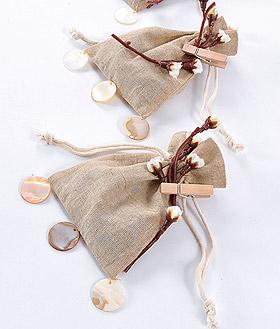 Lot de 12 mini pinces linge naturelles d coration vintage mariage - Pince a linge mariage ...