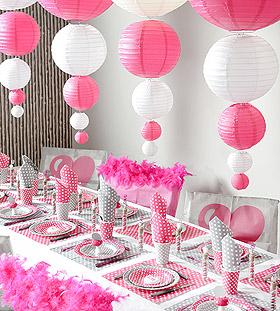 Décoration de salle Boule Lampion mariage
