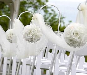 Boule Fleurs Artificielles Mariage