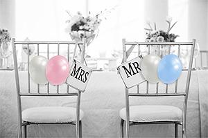 Petits Ballons Nacrés Mariage 12 cm Rose