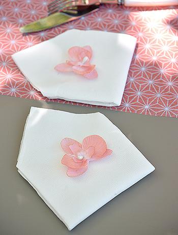 Décoration mariage orchidée