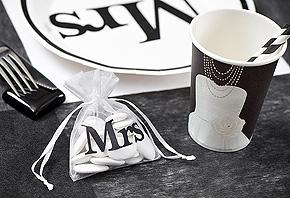 Décoration de Table Mariage Mr ou Mrs