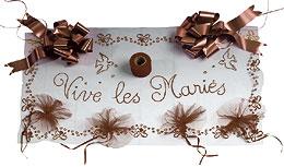 Kit Décoration de Voiture Mariage Chocolat