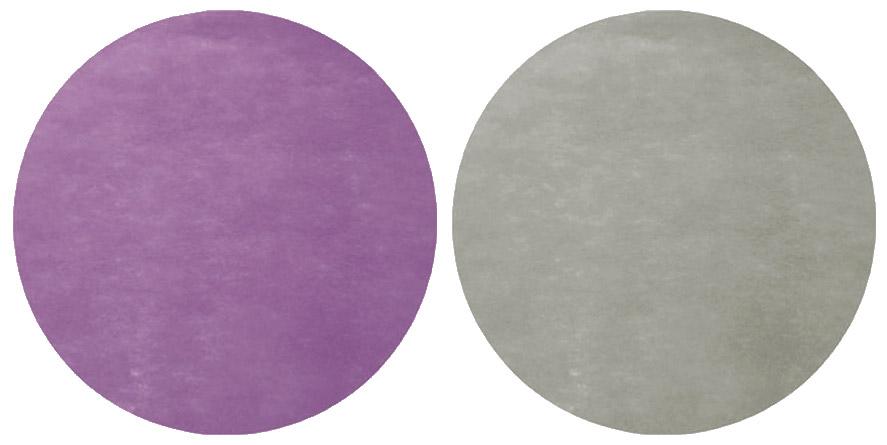 lot de 50 dessous d 39 assiette ronds tissu intiss. Black Bedroom Furniture Sets. Home Design Ideas