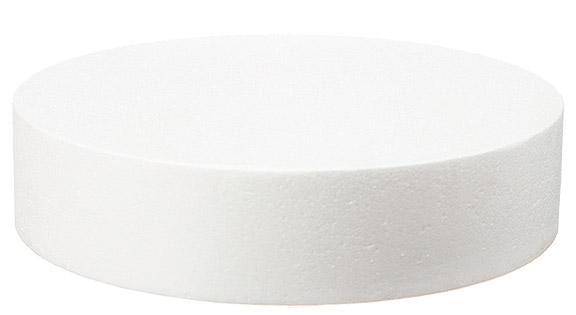 le disque en polystyr ne rond pour pi ce mont e 20cm. Black Bedroom Furniture Sets. Home Design Ideas