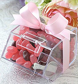Mini Distributeur Bonbons Transparent