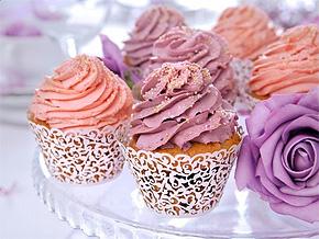 Cupcake Dentelle Papier pas cher