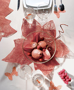 Decoration Pour Table Bordeaux
