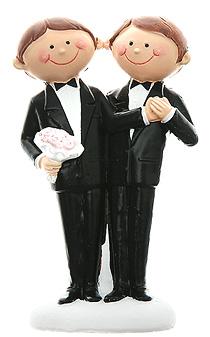 Figurine Mariage Hommes Moderne