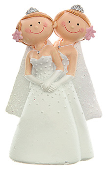 Figurine Mariage Femmes Moderne