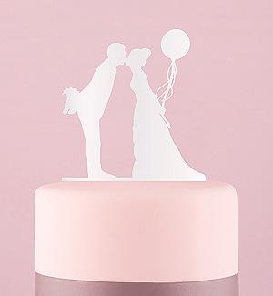 Figurine Mariage Baiser et Ballon