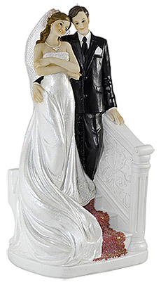 Figurine Mariage Originale Descente Escalier