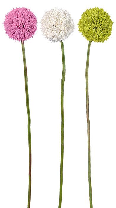 D coration de table mariage mariage - Fleur blanche longue tige ...