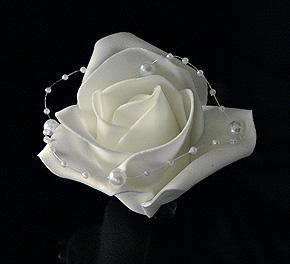 Roses Ventouse Décoration Voiture Mariage