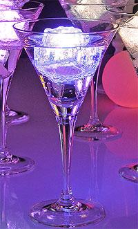 Glaçon Led Lumineux verre