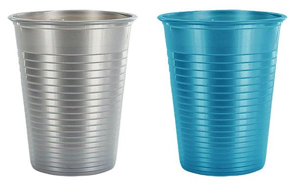 Lot De 25 Gobelets Plastiques Couleur Nacr E Vaisselle