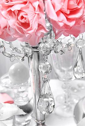 Pendentifs Goutte Cristal Décoration chandelier