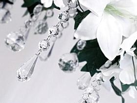 Pendentifs Goutte Cristal Centre de table Mariage