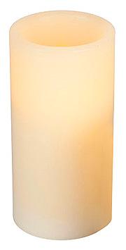 Bougie Led en Cire Cylindrique pas cher