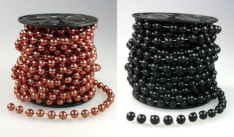 la guirlande sapin boules perles m talis es 8m50 noel. Black Bedroom Furniture Sets. Home Design Ideas