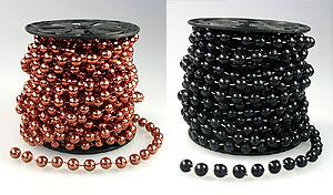 Guirlande Boules Perles Métallisées 8m50