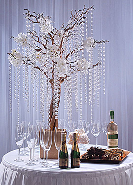 Guirlande Cristal Décoration Arbre de table