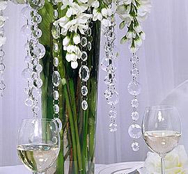 Guirlande Cristal Diamant Décoration Mariage