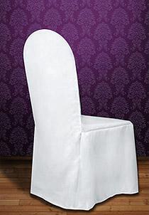 la housse de chaise en tissu luxe bords arrondis d coration de table bapteme. Black Bedroom Furniture Sets. Home Design Ideas