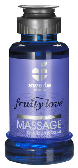 Huile de Massage Fruity Love 100ml Cassis