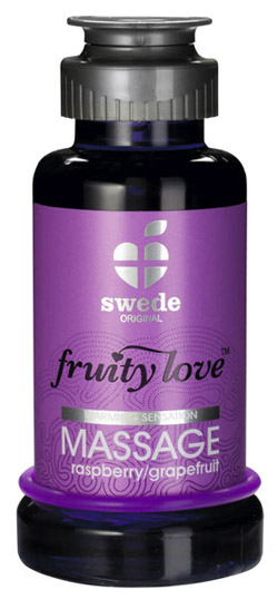 Huile de Massage Fruity Love 100ml Framboise