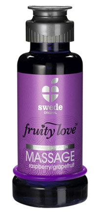Huile de Massage Sensuelle Fruity Love 50ml