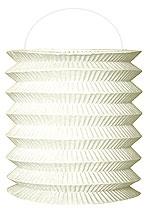 Lampion papier Décoration Mariage Blanc