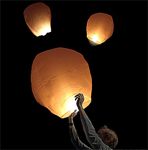 Sky Lantern Mariage pas cher
