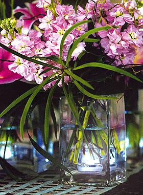 Lumière Led pour Vase Décoration