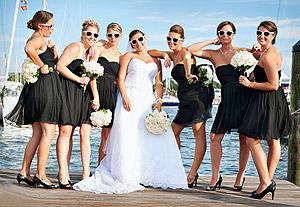 Lunettes de soleil cortège mariage