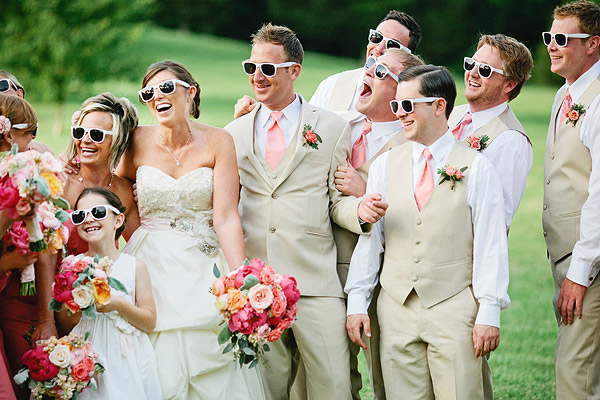 Lunettes soleil invites mariage