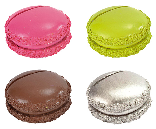Macarons Marque Place Noms x2